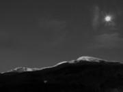 Scenics - Mt Washington Full Moon III by Frank LaFerriere