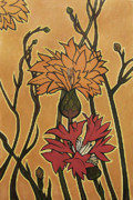 Flower Design Originals - Mucha Ado About Flowers by Carrie Jackson