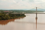 Joey Huertas Art - Mud Hudson Bridge by Joey Huertas