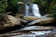 Swallow Falls State Park Art - Muddy Creek Falls 2 by Matthew Winn