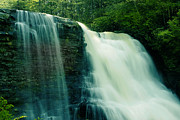 Swallow Falls State Park Art - Muddy Creek Falls by Mike Flynn