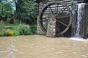 Old Mills Photo Prints - Muddy Water After The Rain Print by Jan Amiss Photography