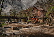 Grist Mill Prints - Muddy Water Print by Wade Aiken