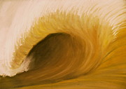 Wave Pastels - Muddy Wave by Alec  Pydde