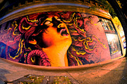 Graffiti Photos - Mudusa by Mike Lindwasser Photography