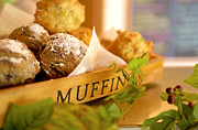 Taste Framed Prints - Muffins fresh and warm Framed Print by Bruce Stanfield