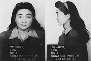 Wwii Propaganda Photos - Mugshot Of Iva Toguri 1906-2006 by Everett