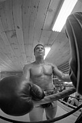 Boxing  Photo Prints - Muhammad Ali Big Glove Print by Jan Faul