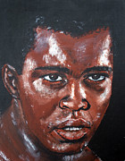 Jim Fitzpatrick Paintings - Muhammad Ali Formerly Cassius Clay by Jim Fitzpatrick