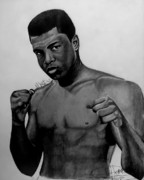 The Keeyonardo Project Drawings Originals - Muhammad Ali Reday For Battle Drawing by Keeyonardo