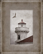 Carol Leigh Framed Prints - Mukilteo Light Washington Framed Print by Carol Leigh