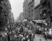 Tenements Prints - Mulberry Street In New York Citys Print by Everett
