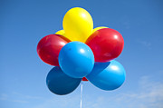 Party Balloons Prints - Multi-Colored Balloons Print by Paul Edmondson