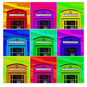 Library Digital Art - Multi-image by Martin  Fry
