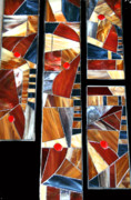 Home Decor Glass Art - Multi piece  by Monika A Leon