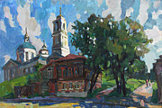 Russia Painting Originals - Multicolored day by Juliya Zhukova