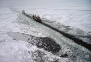 Production Photos - Multinational Fleet Of Icebreakers by Cotton Coulson