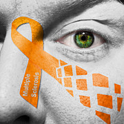 Multiple Sclerosis Posters - Multiple Sclerosis MS Poster by Semmick Photo