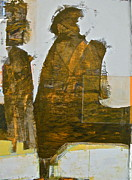 Golds Mixed Media Prints - Mummy Shunt Print by Cliff Spohn