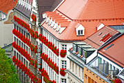 City Streets Framed Prints - Munich flats Framed Print by Anthony Citro