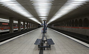 U-bahn Prints - Munich Subway No.1 Print by Wyn Blight-Clark
