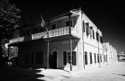 Archives Prints - Municipal Cultural Centre And City Museum And Archives In The Restored Old Colonial Port Larnaca  Print by Joe Fox