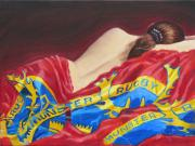 Rugby Art - Munster Dreams by Tomas OMaoldomhnaigh