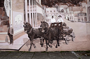 Mural Photo Posters - Mural Art Oregon 2 Poster by Bob Christopher