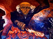 Mural Photos - Mural Miguel Hidalgo by Orozco 4 by Olden Mexico