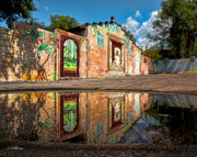 Mural Photos - Mural Reflected by Christopher Holmes