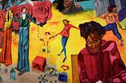 Mural San Francisco Print by Bob Christopher