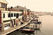 Europe Digital Art - Murano Island by Linda  Parker