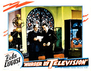 Newscanner Framed Prints - Murder By Television, Bela Lugosi Framed Print by Everett