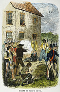 Anti Discrimination Prints - Murder Of Joseph Smith Print by Granger