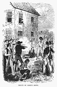 Punishment Prints - Murder Of Smith, 1844 Print by Granger