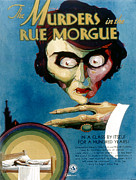 Murders Framed Prints - Murders In The Rue Morgue, 1932 Framed Print by Everett