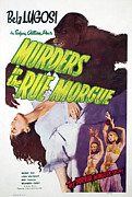 Murders Framed Prints - Murders In The Rue Morgue, Arlene Framed Print by Everett