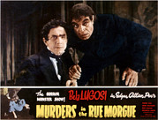 Ev-in Metal Prints - Murders In The Rue Morgue, Bela Lugosi Metal Print by Everett