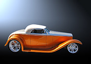 Chip Foose Art - Muroc Roadster by Bill Dutting