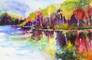 Mirror Paintings - Murphy Lake by Sandra Strohschein