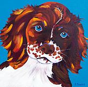 Dog Portrait Originals - Murphy by Susan Szabo