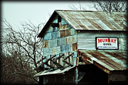 Old Barns Metal Prints - Murray Gin Metal Print by Lisa Moore