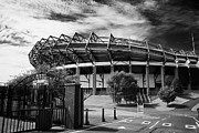 Rugby Union Metal Prints - Murrayfield Stadium Edinburgh Rugby Scotland Metal Print by Joe Fox