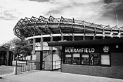 Rugby Union Metal Prints - Murrayfield Stadium Edinburgh Scotland Uk United Kingdom Metal Print by Joe Fox