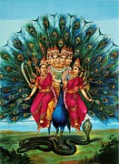 Conversation Piece Prints - Murugan Print by Pg Reproductions