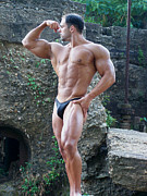 Photoart Photos - MuscleArt Marius Classic Pose by Jake Hartz