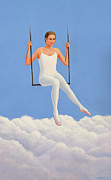 Swing Paintings - Muse of Midday by Laurie Stewart