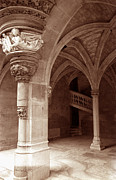 Architecture Greeting Cards Prints - Musee de Cluny Print by Kathy Yates
