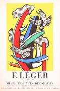 Mourlot Paintings - Musee des Art Decoratifs by Fernand Leger
