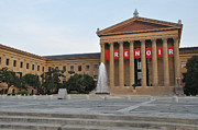 Art Museum Digital Art Prints - Museum of Art - Philadelphia Print by Bill Cannon